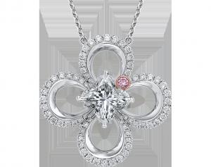 Delphinium - Lily Diamond Pendant, Lili Jewelry