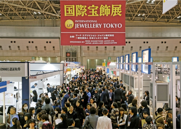 Tokyo IJT jewelry Exhibition - Post Photo 2