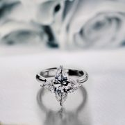 Orchidea Ring - Diamond Engagement Ring,