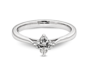 Orchidea Ring - main Diamond Engagement Ring,